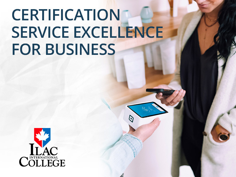 CERTIFICATION SERVICE EXCELLENCE FOR BUSINESS