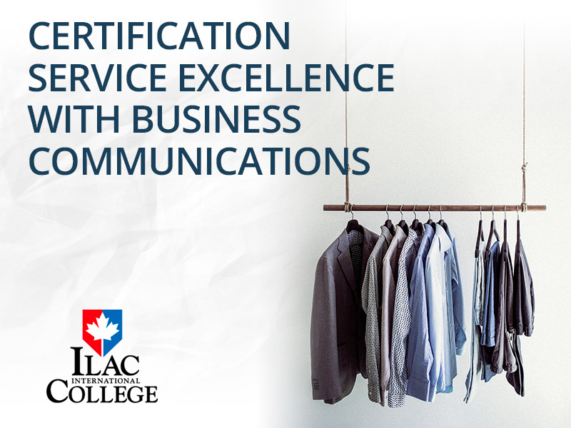 CERTIFICATION SERVICE EXCELLENCE WITH BUSINESS COMMUNICATIONS