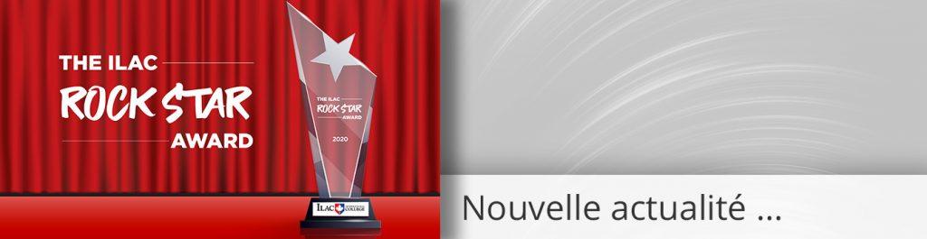 UN AWARD POUR CHRISMO | ILAC ROCK STAR AWARD 2020